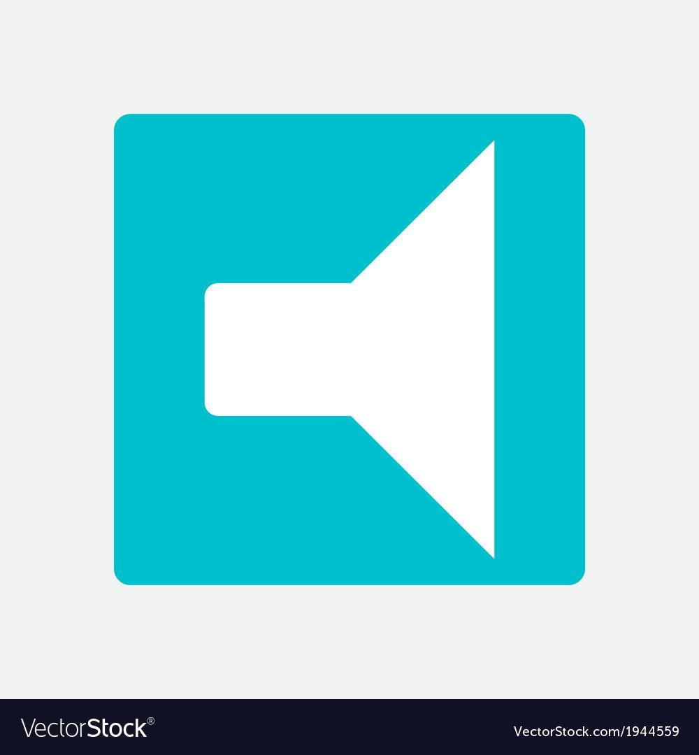 Sound icon vector   Price: 1 Credit (USD $1)