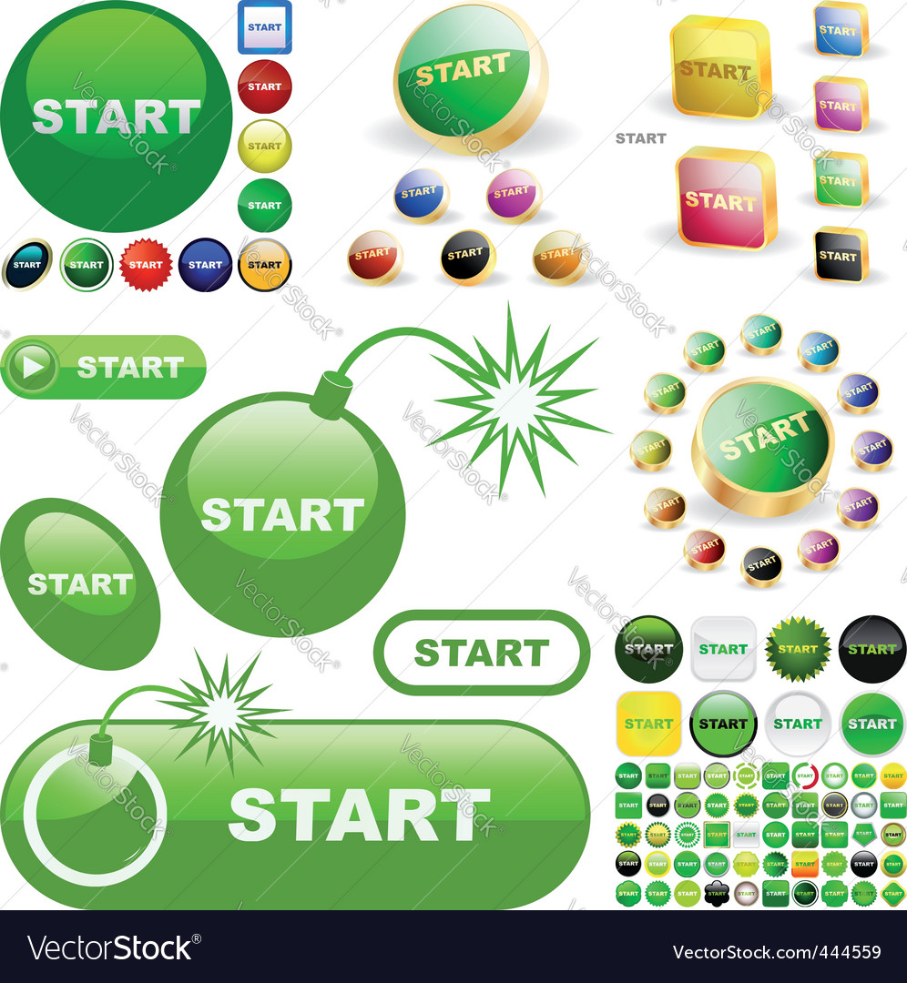 Start vector | Price: 1 Credit (USD $1)