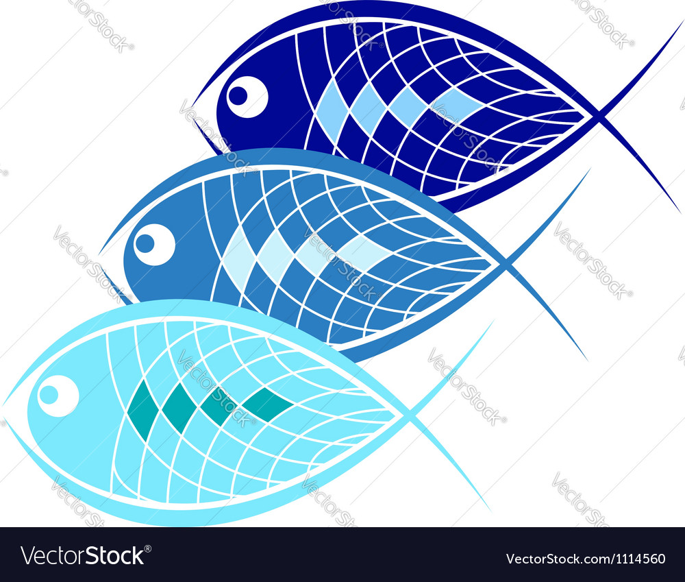 Design for business fish vector | Price: 1 Credit (USD $1)
