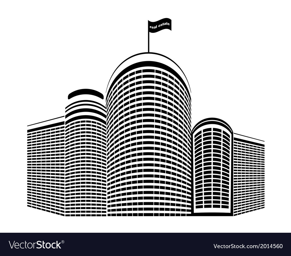 High rise homes vector | Price: 1 Credit (USD $1)