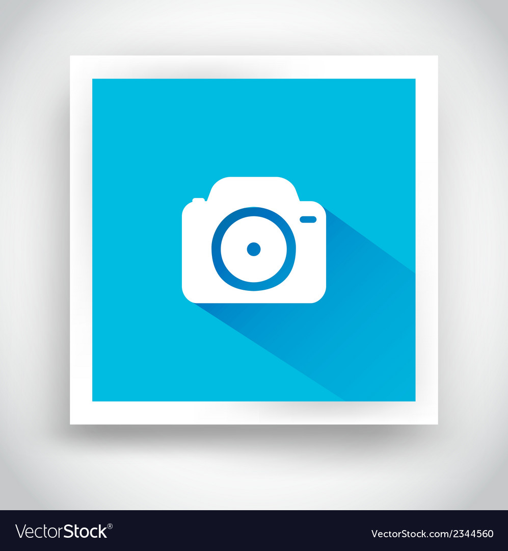 Icon of camera for web and mobile applications vector | Price: 1 Credit (USD $1)