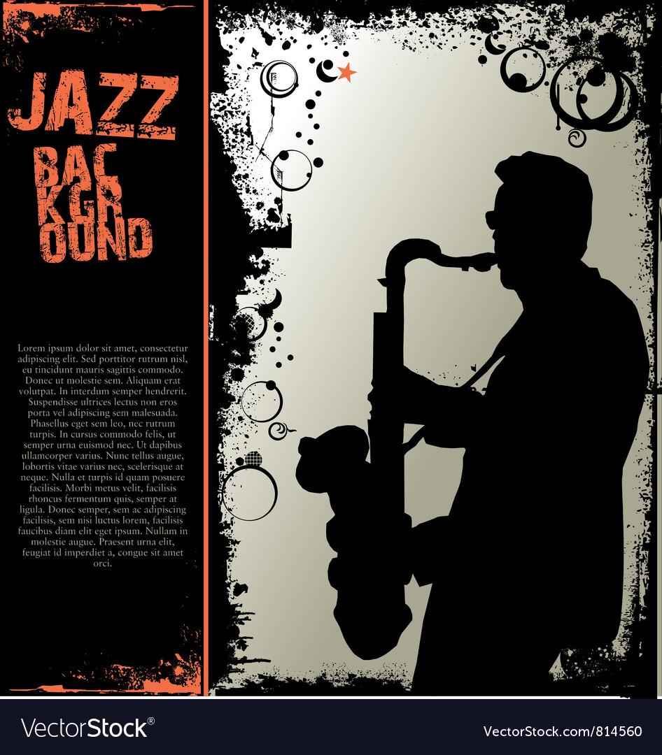 Jazz music background vector | Price: 1 Credit (USD $1)