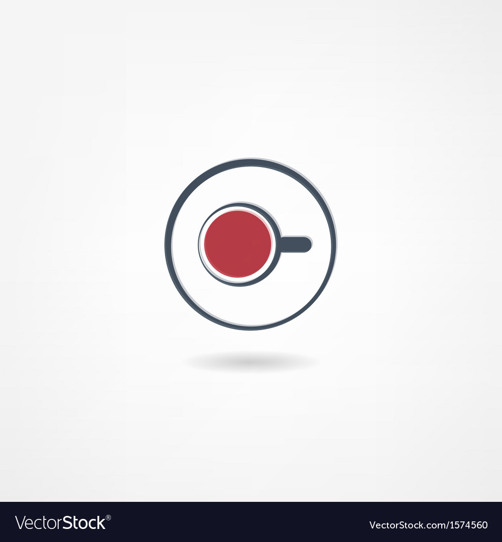 Tea icon vector | Price: 1 Credit (USD $1)