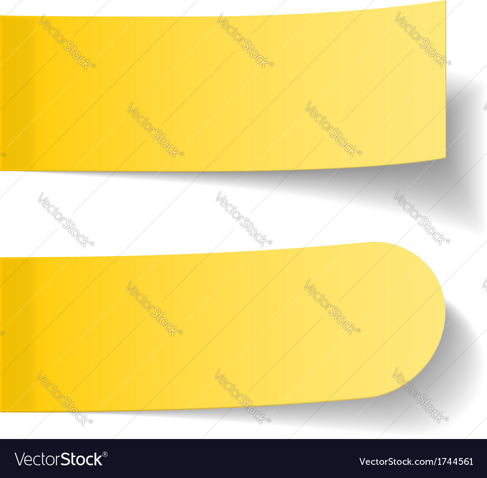 Sticky papers vector | Price: 1 Credit (USD $1)