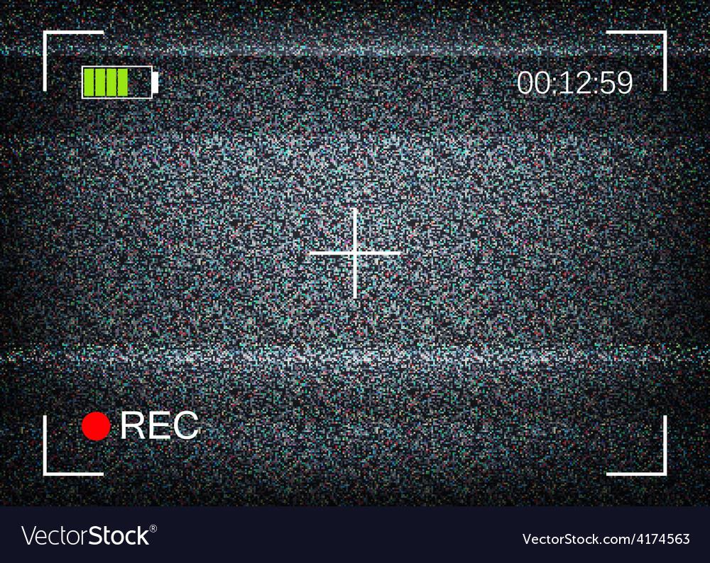 Digital camera viewfinder vector | Price: 1 Credit (USD $1)
