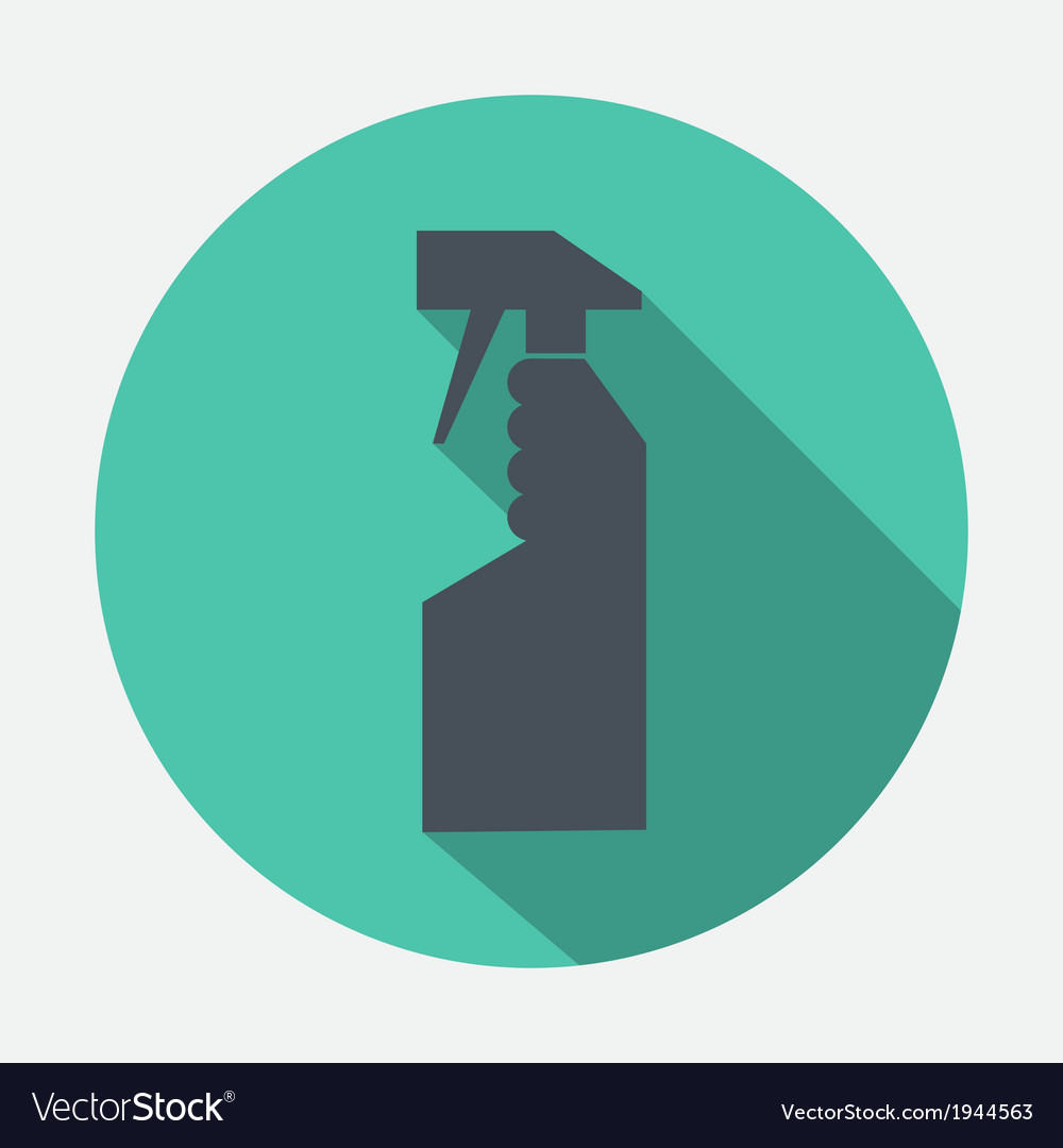 Spray bottle icon vector | Price: 1 Credit (USD $1)