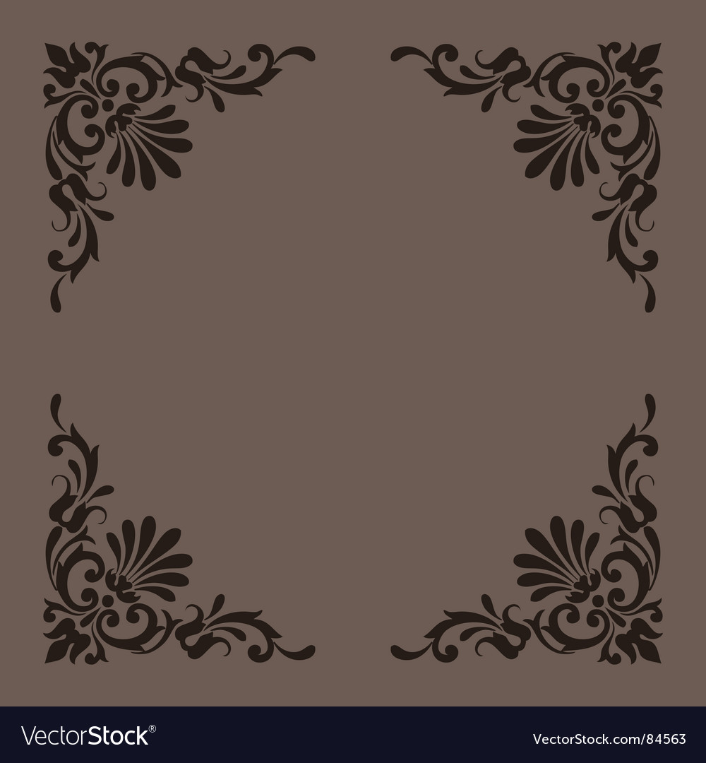 Vintage ornaments series vector | Price: 1 Credit (USD $1)