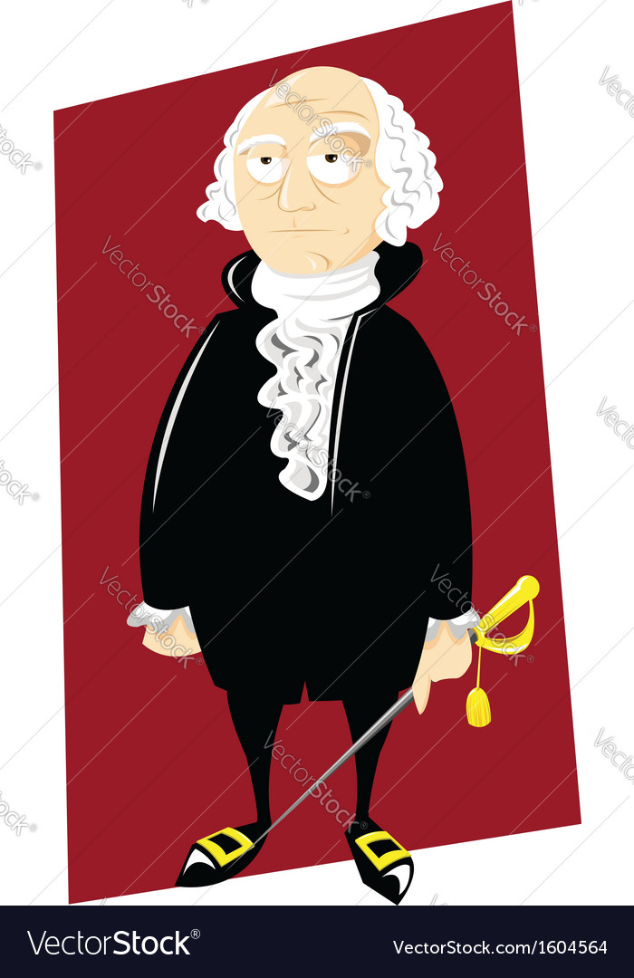 George washington vector | Price: 1 Credit (USD $1)