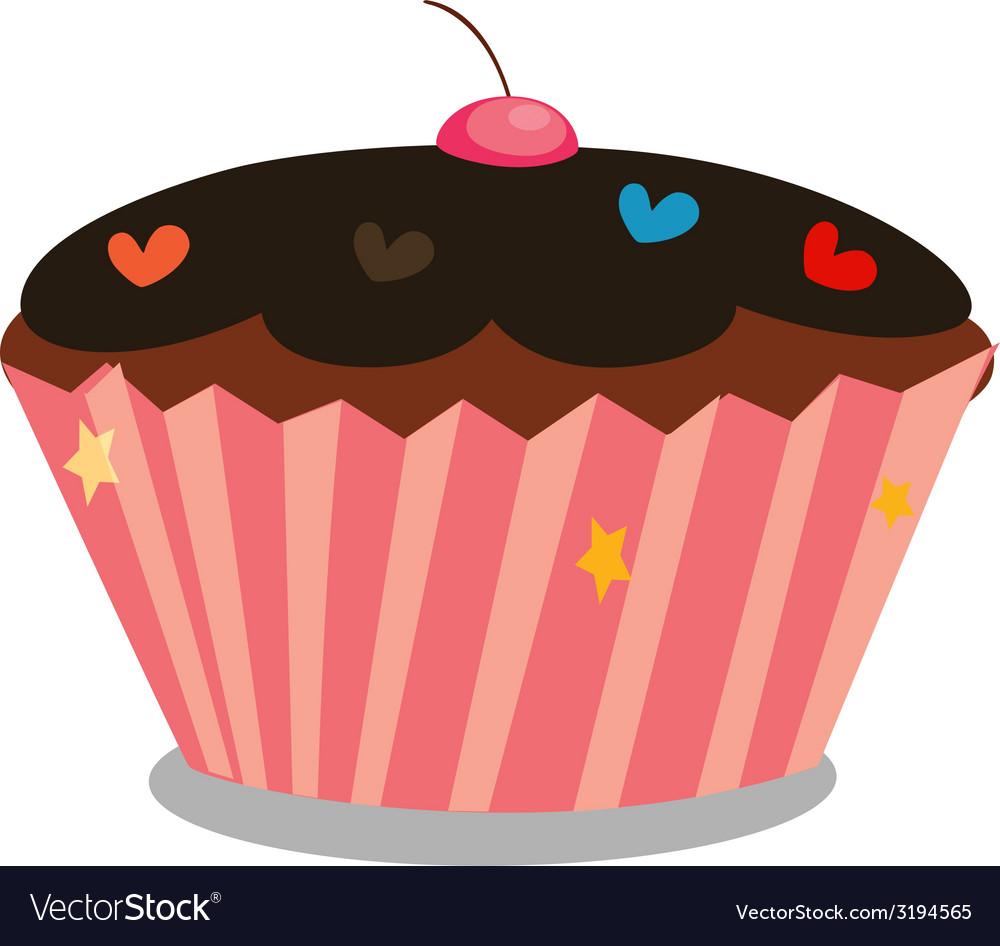 Capcake vector | Price: 1 Credit (USD $1)