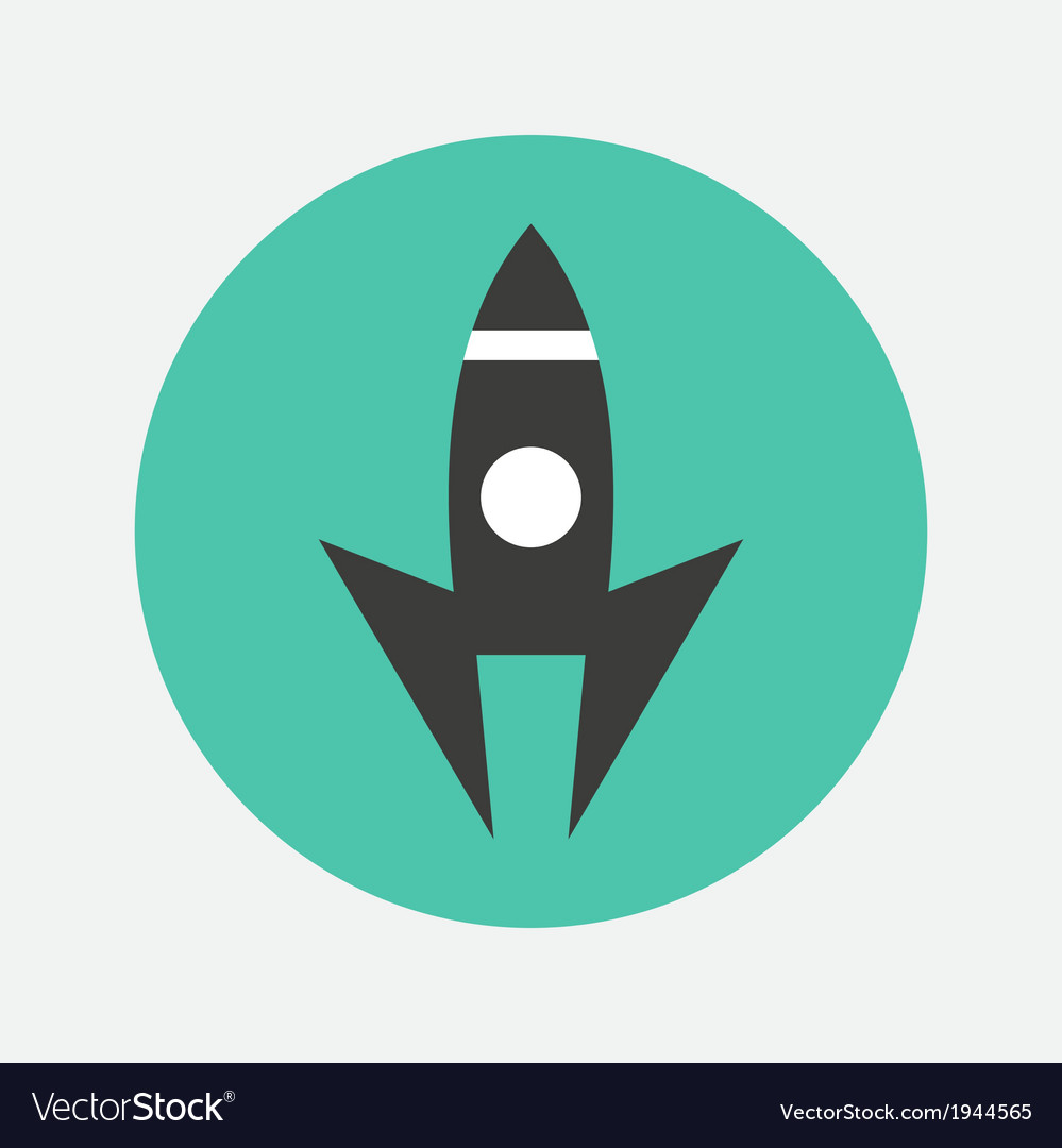 Launch icon vector | Price: 1 Credit (USD $1)