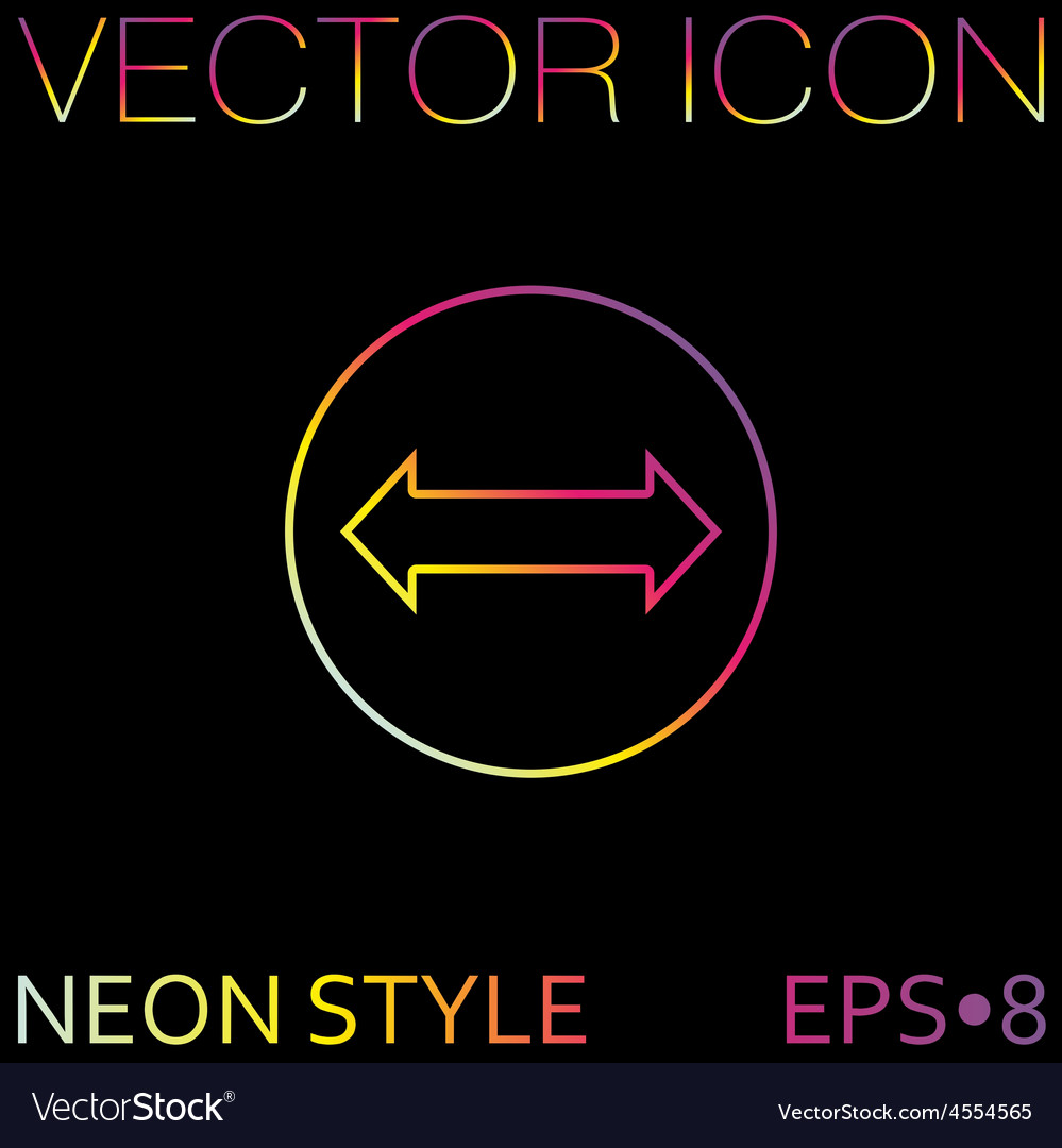 Move arrows vector | Price: 1 Credit (USD $1)