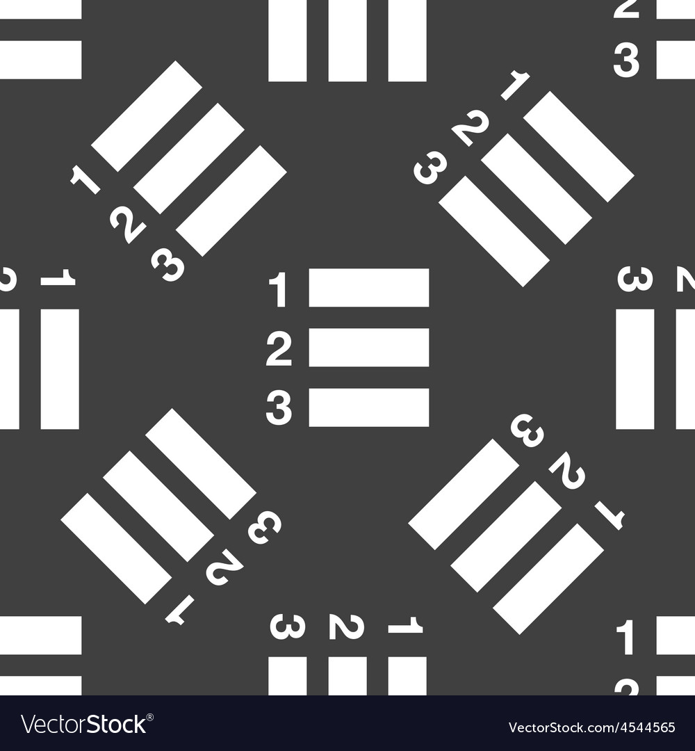 Numbered list pattern vector   Price: 1 Credit (USD $1)