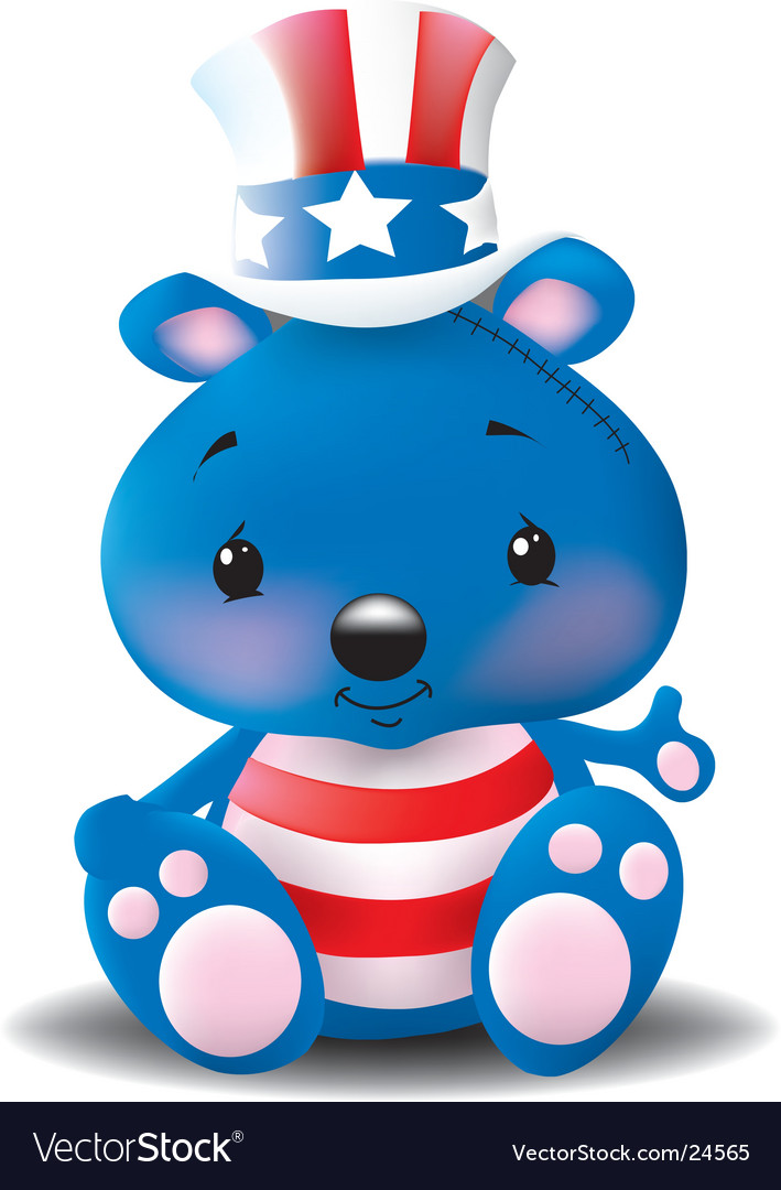 Teddy vector | Price:  Credit (USD $)