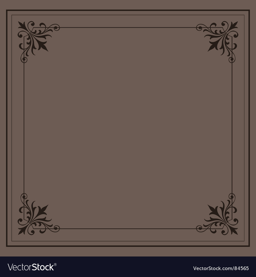 Vintage ornamental frame series vector | Price: 1 Credit (USD $1)