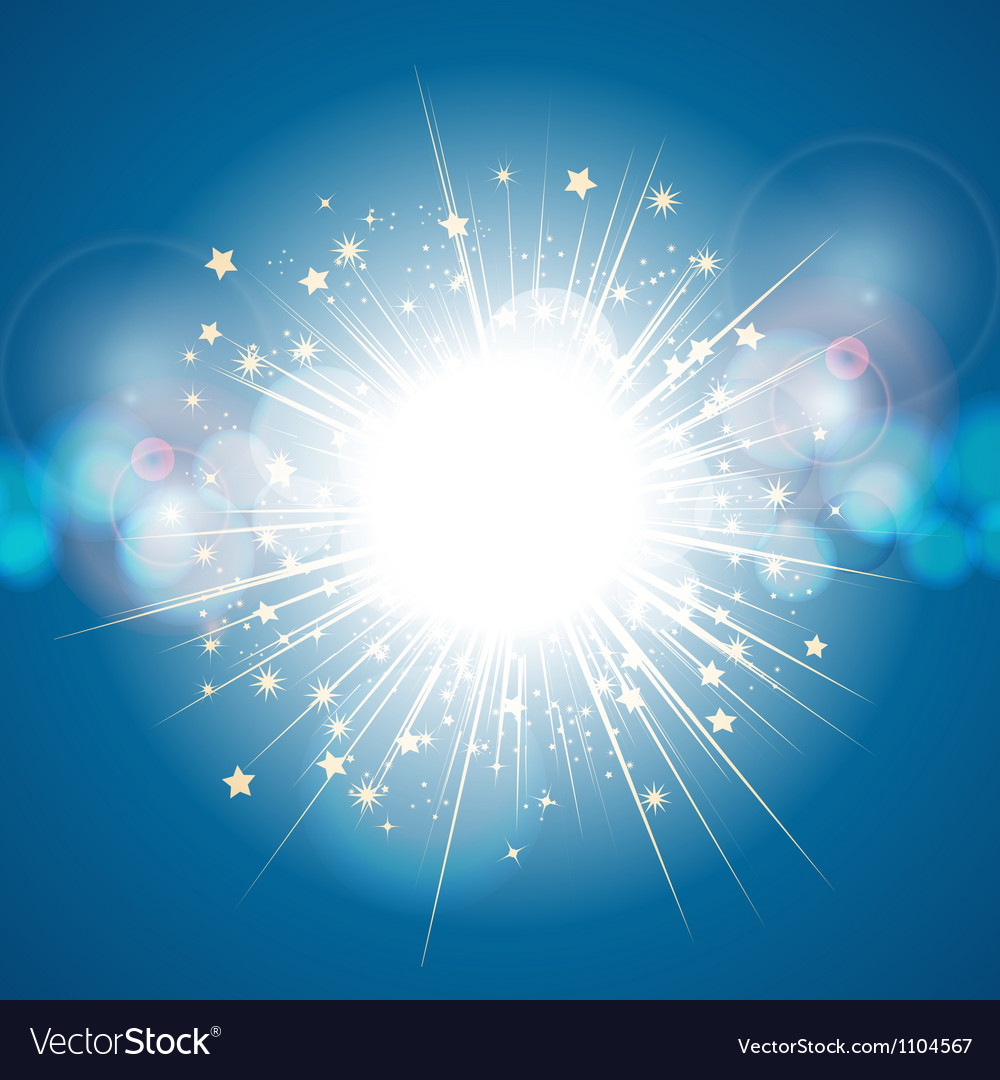 Abstract light explosion vector | Price: 1 Credit (USD $1)