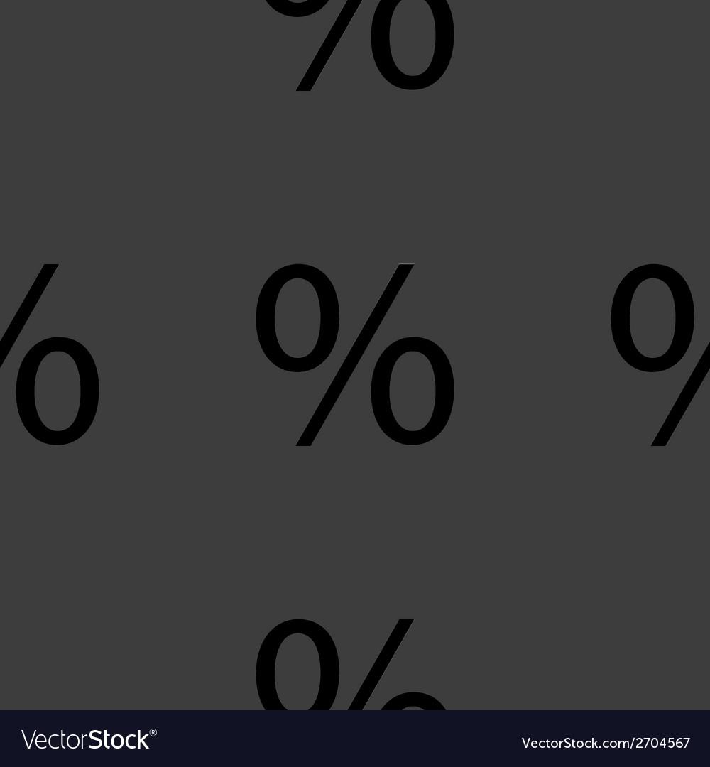 Flat design seamless gray pattern vector   Price: 1 Credit (USD $1)