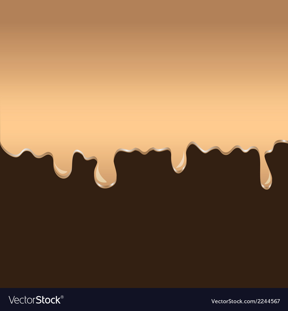 Melting chocolate vector | Price: 1 Credit (USD $1)