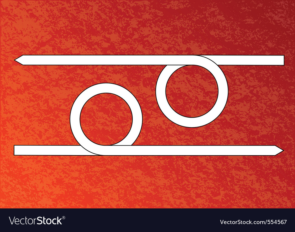 Red background with white arrows vector | Price: 1 Credit (USD $1)