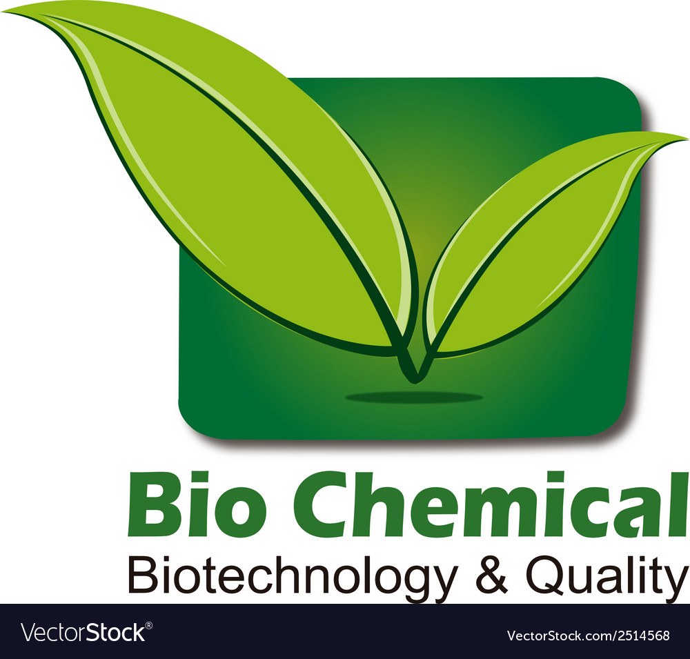 Logo for biochemistry biotechnology health vector | Price: 1 Credit (USD $1)