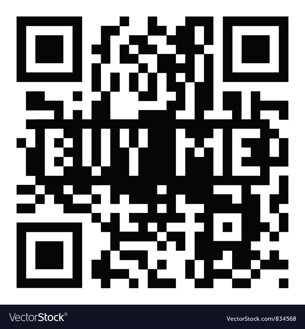 Qr code buy me vector | Price: 1 Credit (USD $1)