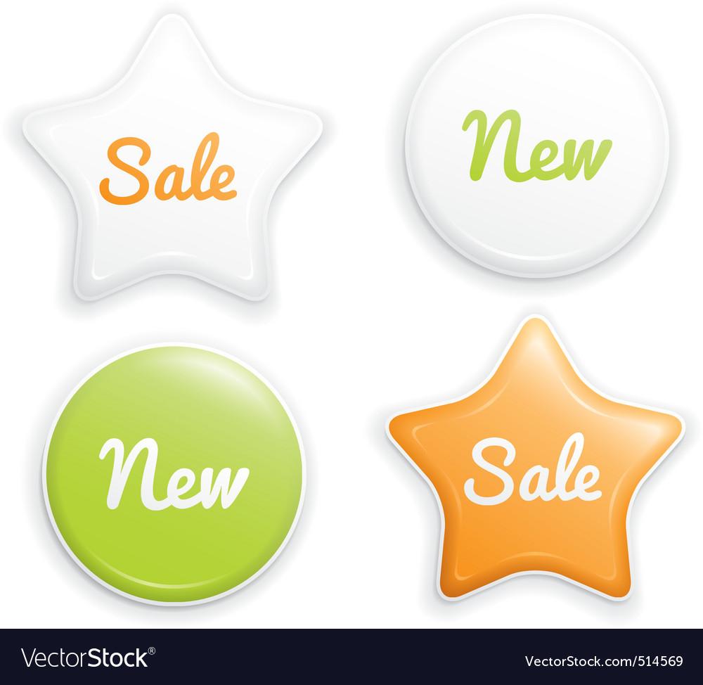Label set vector | Price: 1 Credit (USD $1)
