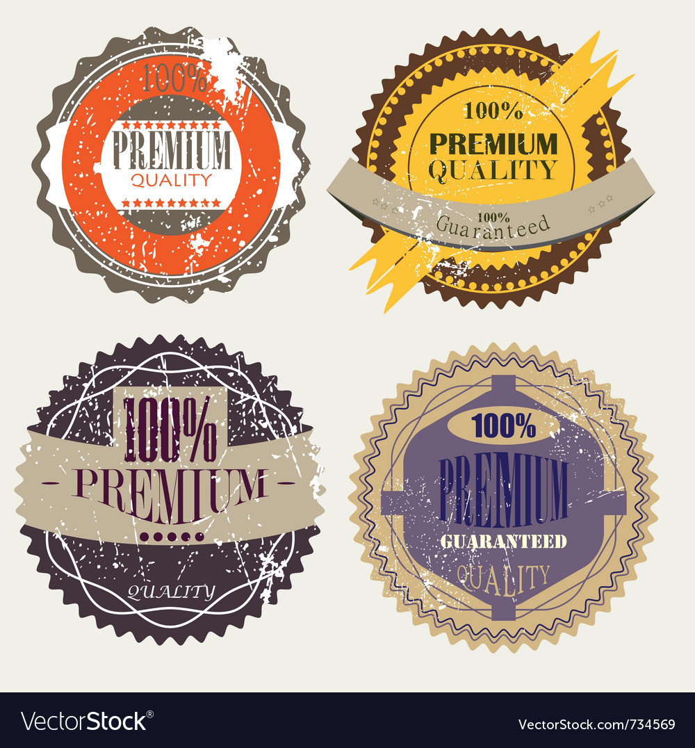 Quality guarantee vector | Price: 1 Credit (USD $1)