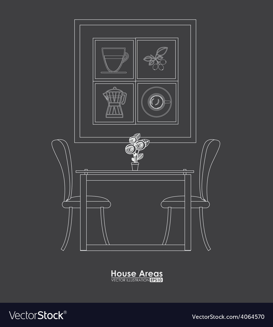 Furniture design vector | Price: 1 Credit (USD $1)