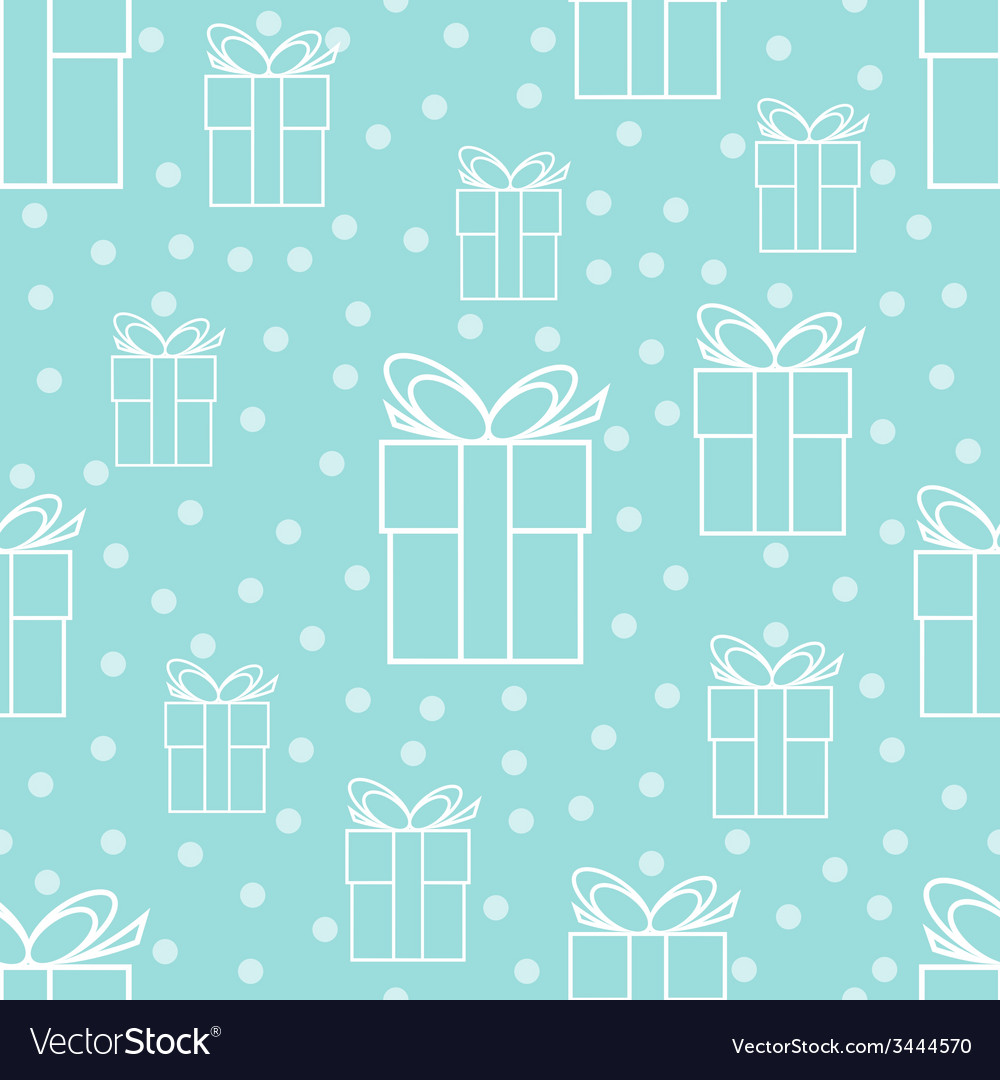 Pattern with gifts vector | Price: 1 Credit (USD $1)