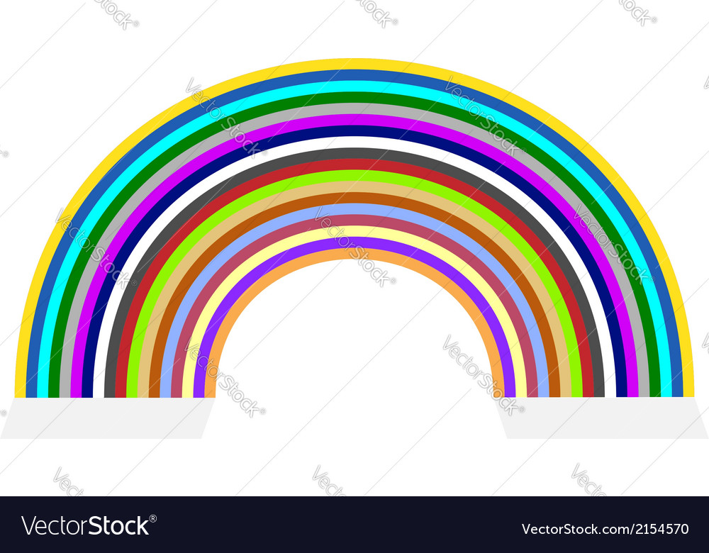 Rainbow vector | Price: 1 Credit (USD $1)