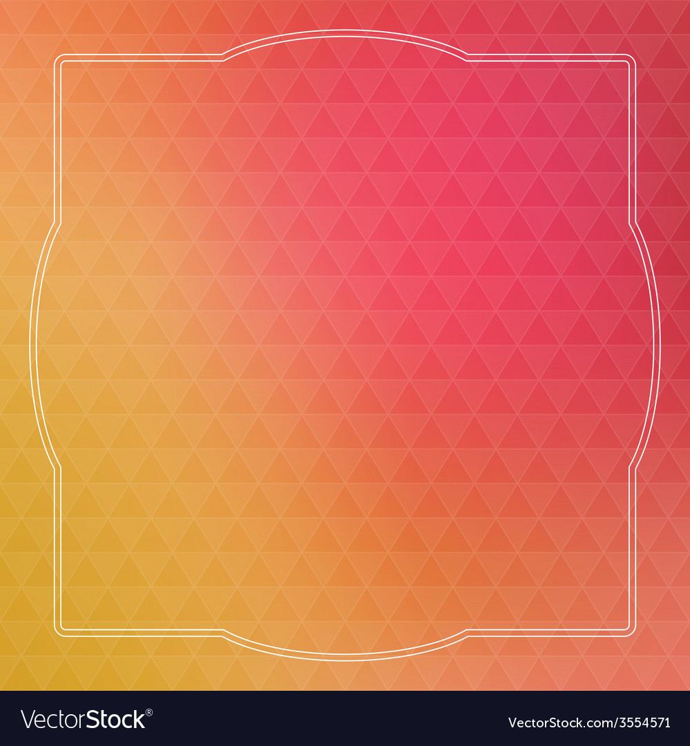 Abstract background with triangles and vintage vector | Price: 1 Credit (USD $1)
