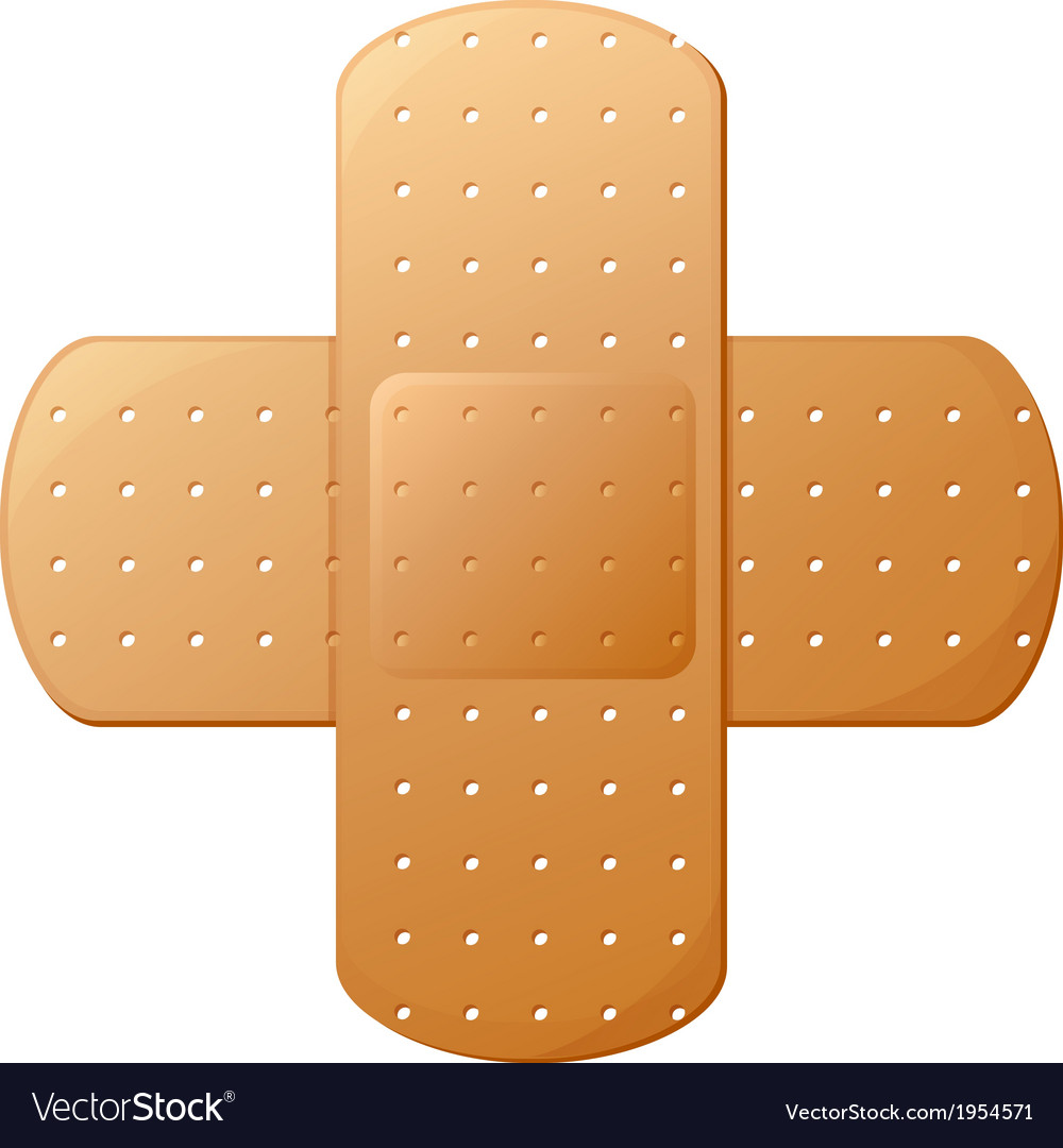 An adhesive bandage vector | Price: 1 Credit (USD $1)