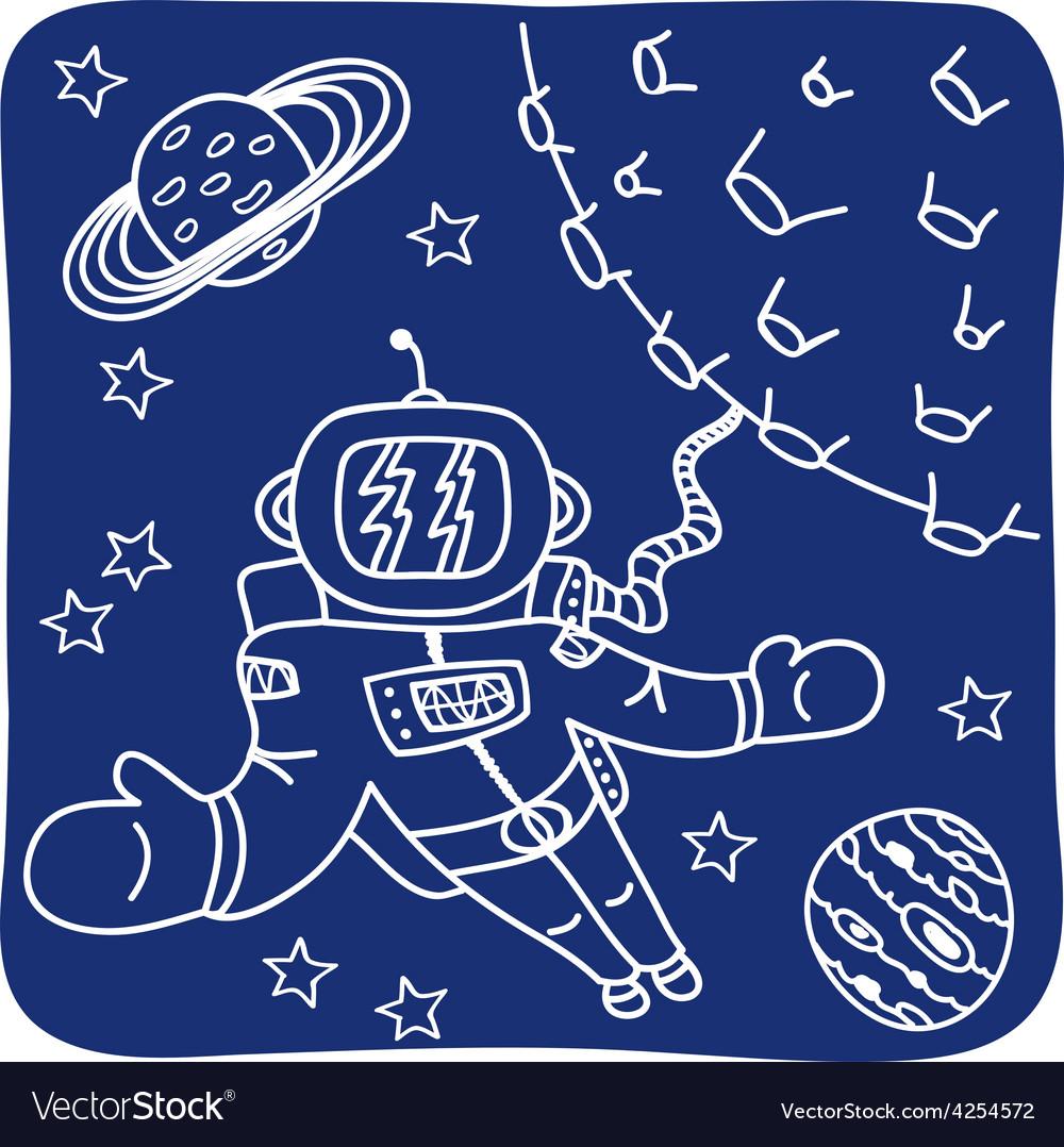 Hand drawn birthday icons vector | Price: 1 Credit (USD $1)