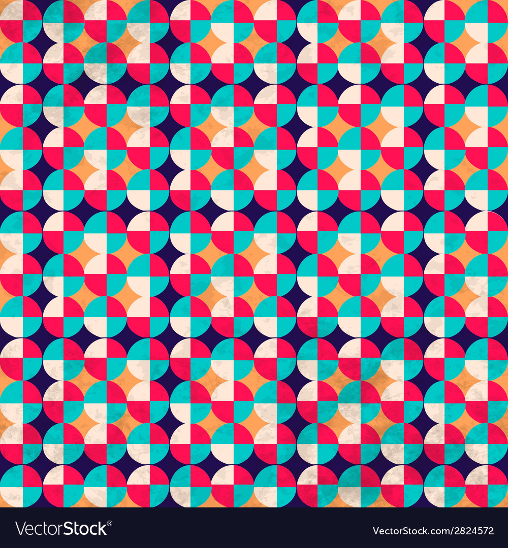 Seamless geometric pattern with zigzags vector | Price: 1 Credit (USD $1)