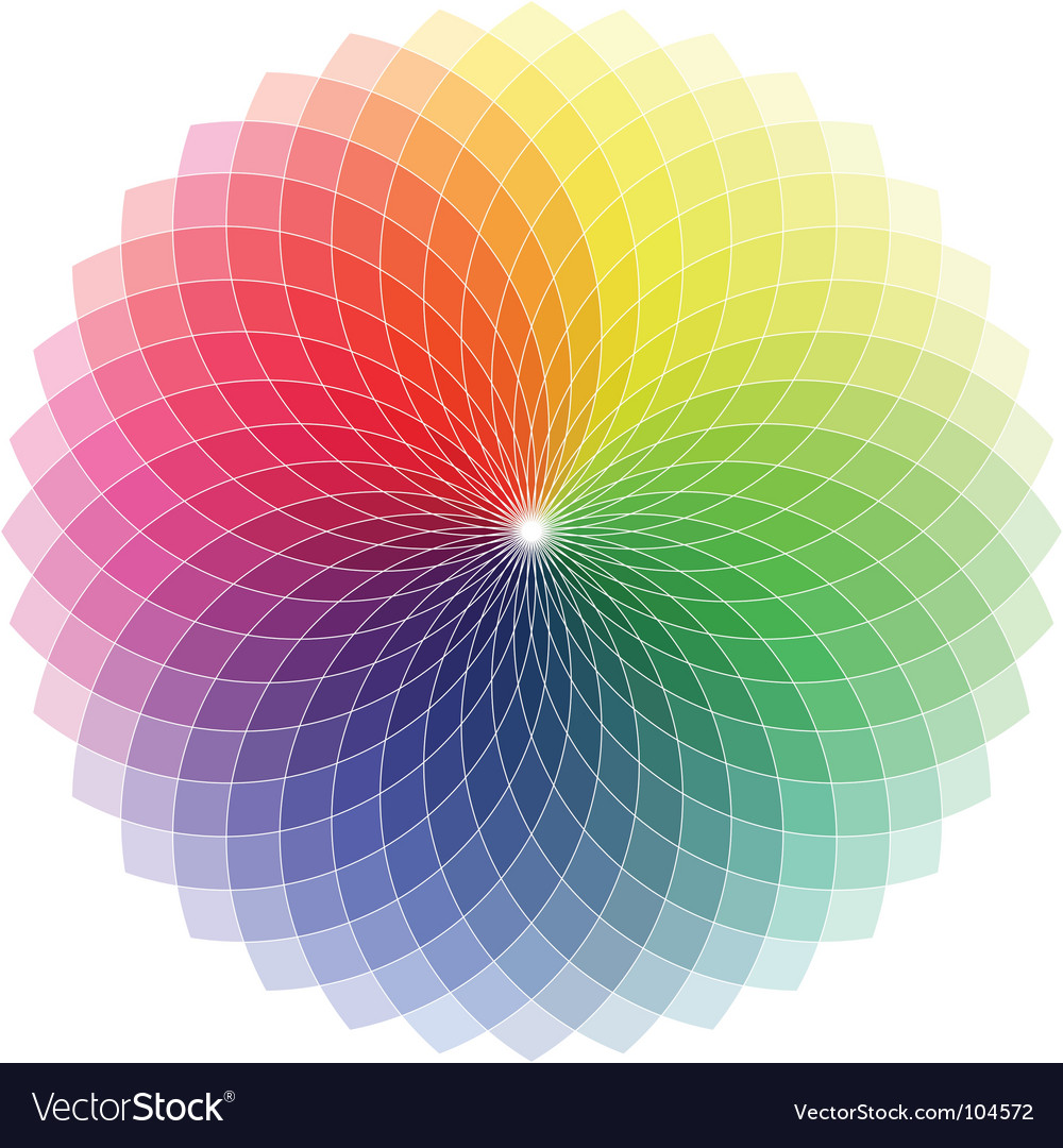 Spectrum spiro graph vector | Price: 1 Credit (USD $1)
