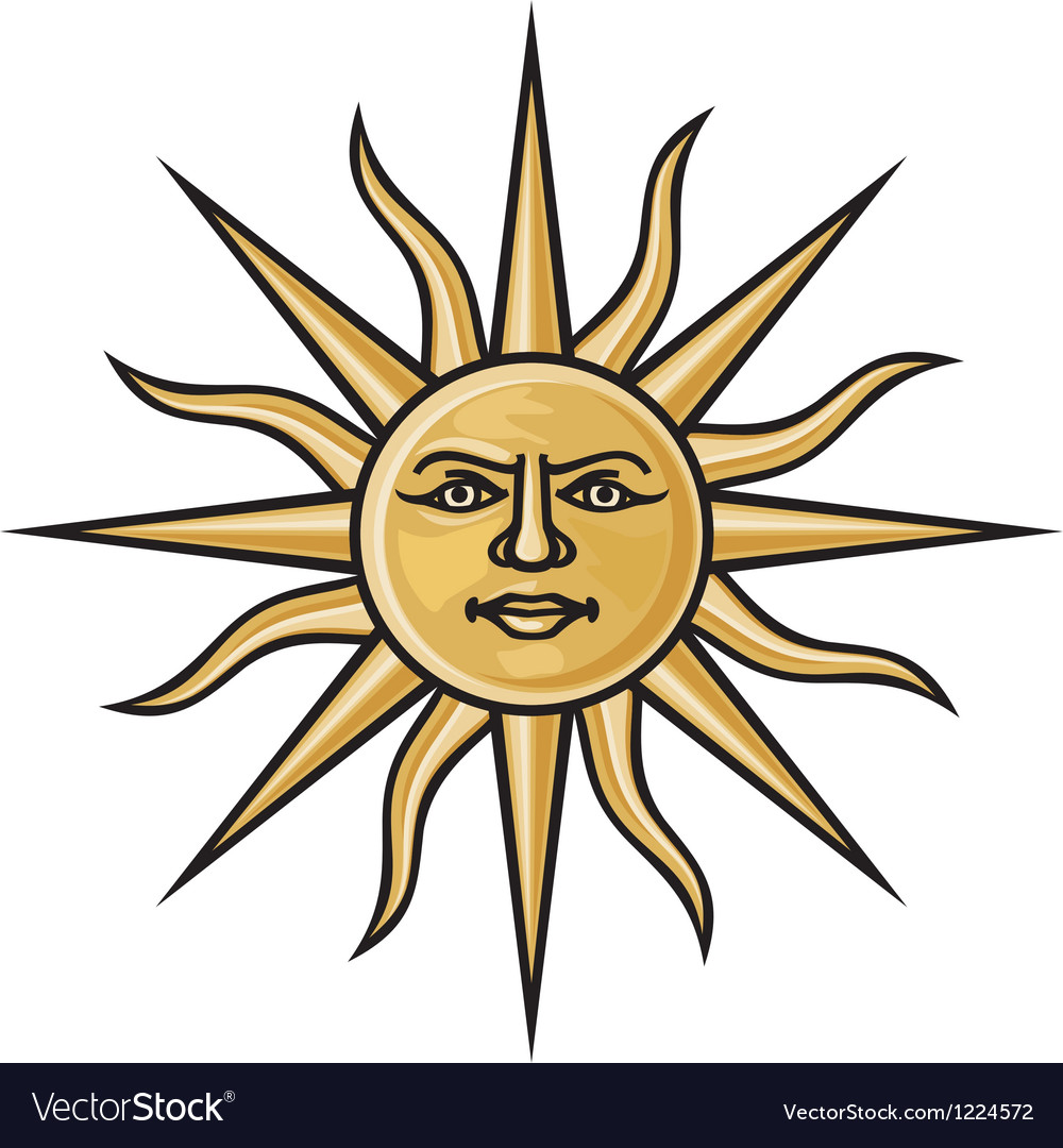 Symbol sun vector | Price: 1 Credit (USD $1)