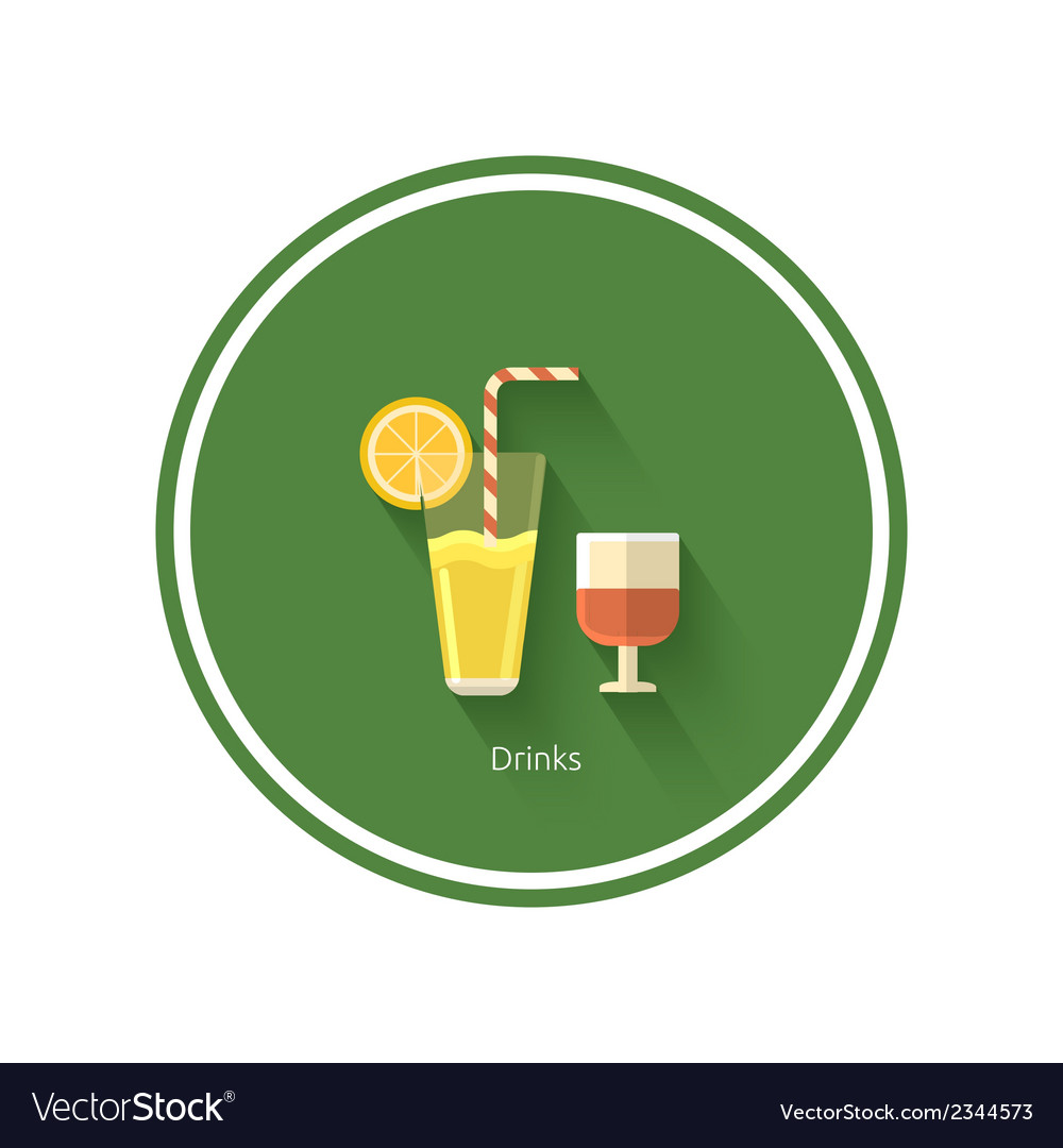 Drinks icon vector | Price: 1 Credit (USD $1)