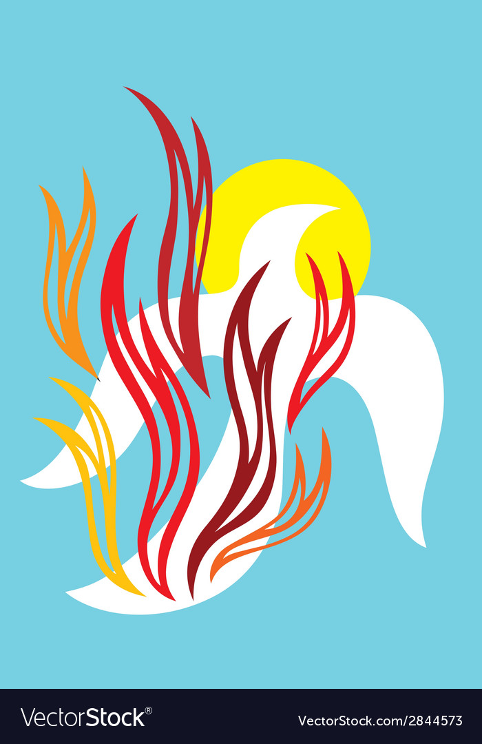 Holyspirit fire vector | Price: 1 Credit (USD $1)