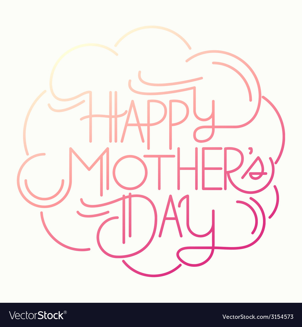 Mothers day01 vector | Price: 1 Credit (USD $1)