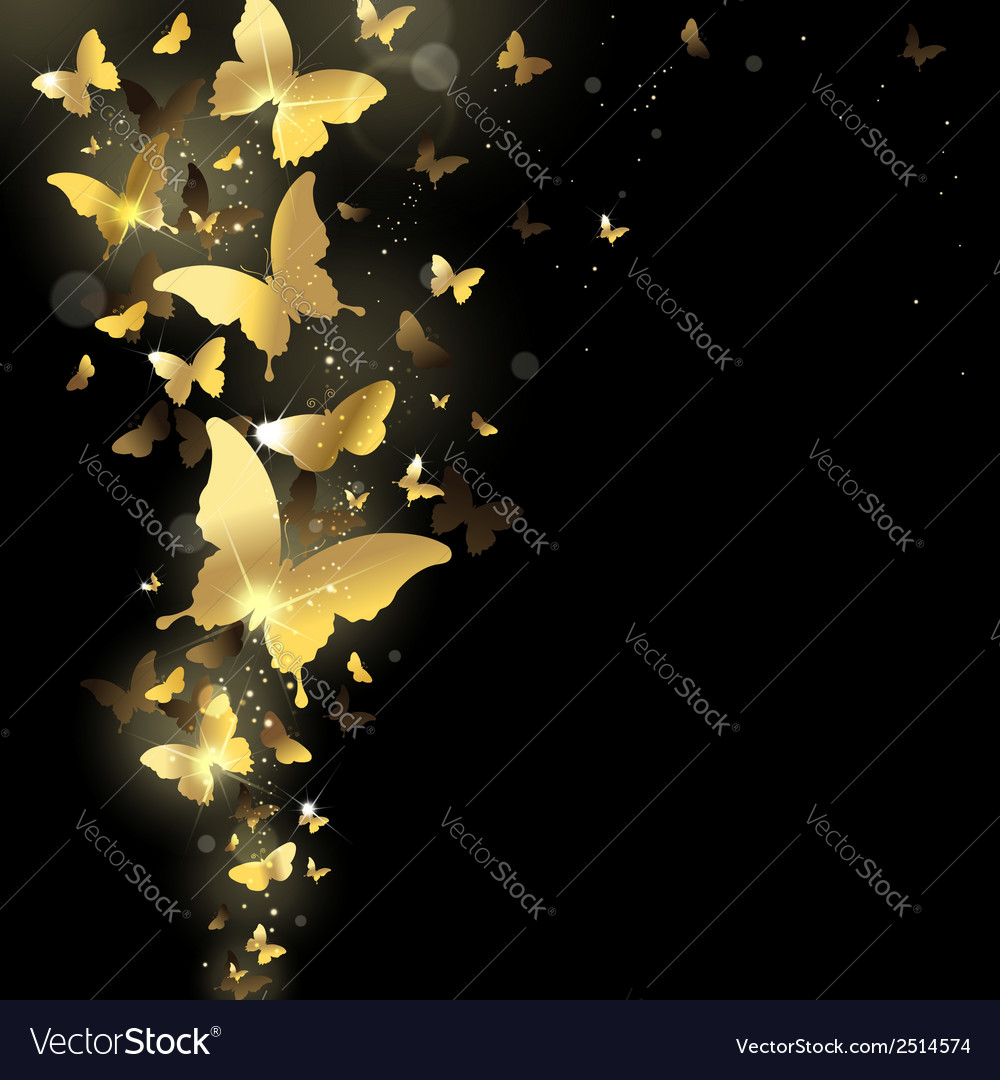 Fireworks of butterflies vector | Price: 1 Credit (USD $1)