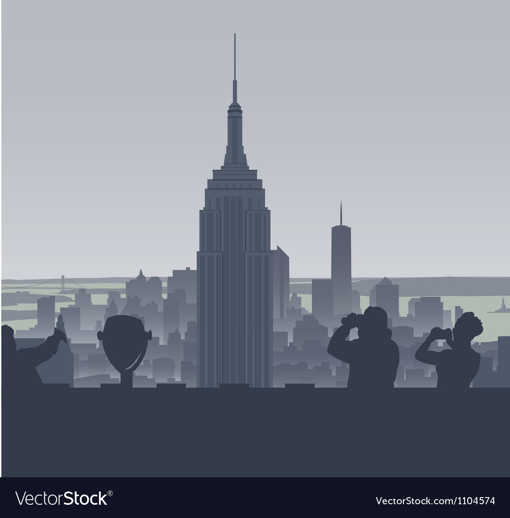New york tourism vector | Price: 1 Credit (USD $1)