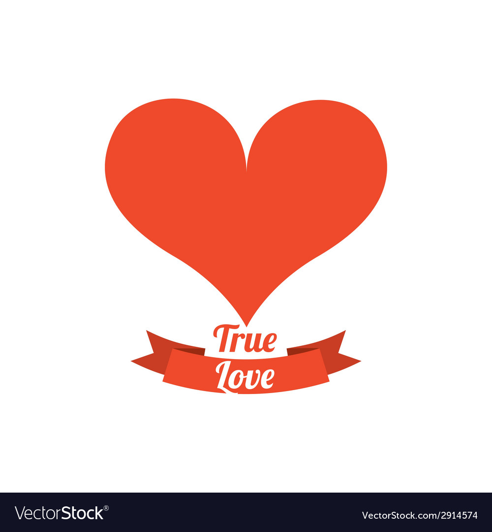 True love vector | Price: 1 Credit (USD $1)