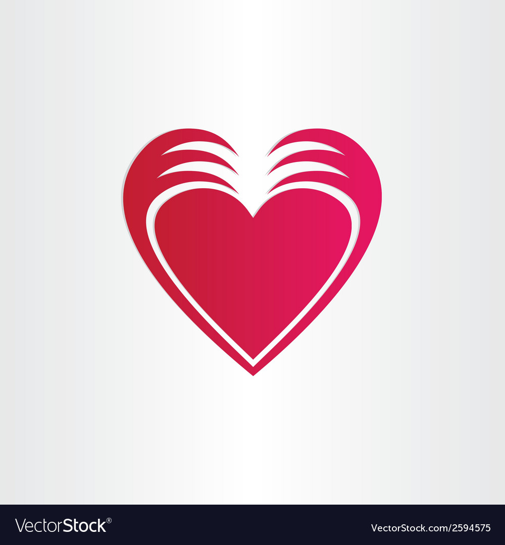 Hands stealing heart concept st valentine symbol vector | Price: 1 Credit (USD $1)
