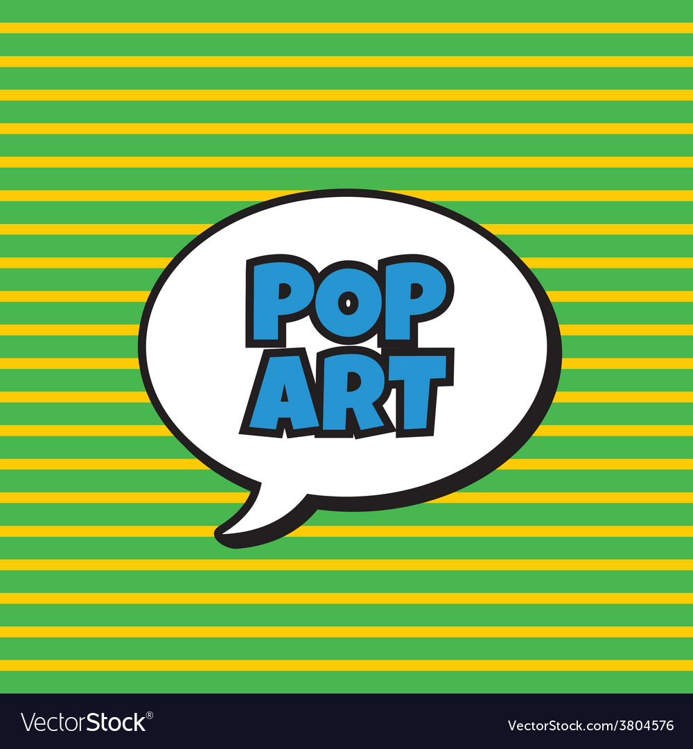 Pop art vector | Price: 1 Credit (USD $1)