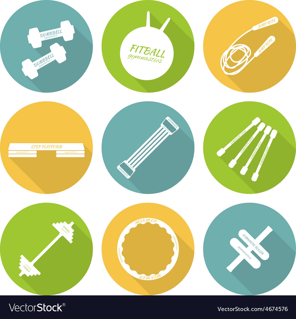 Set of flat icons of tools and accessories for vector | Price: 1 Credit (USD $1)