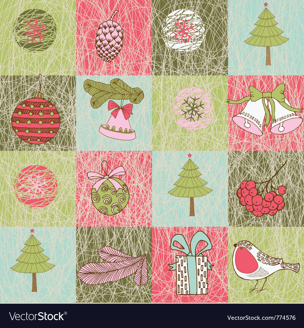Xmas patterns vector | Price: 1 Credit (USD $1)