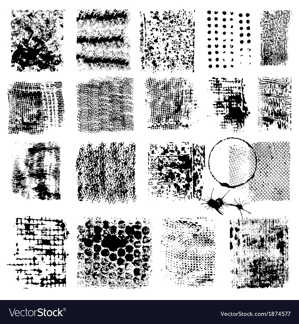Grunge textures vector | Price: 1 Credit (USD $1)