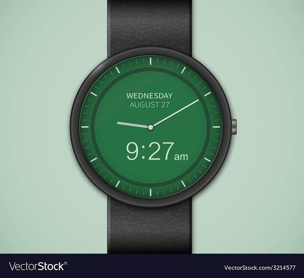 Smartwatch mockup vector | Price: 1 Credit (USD $1)