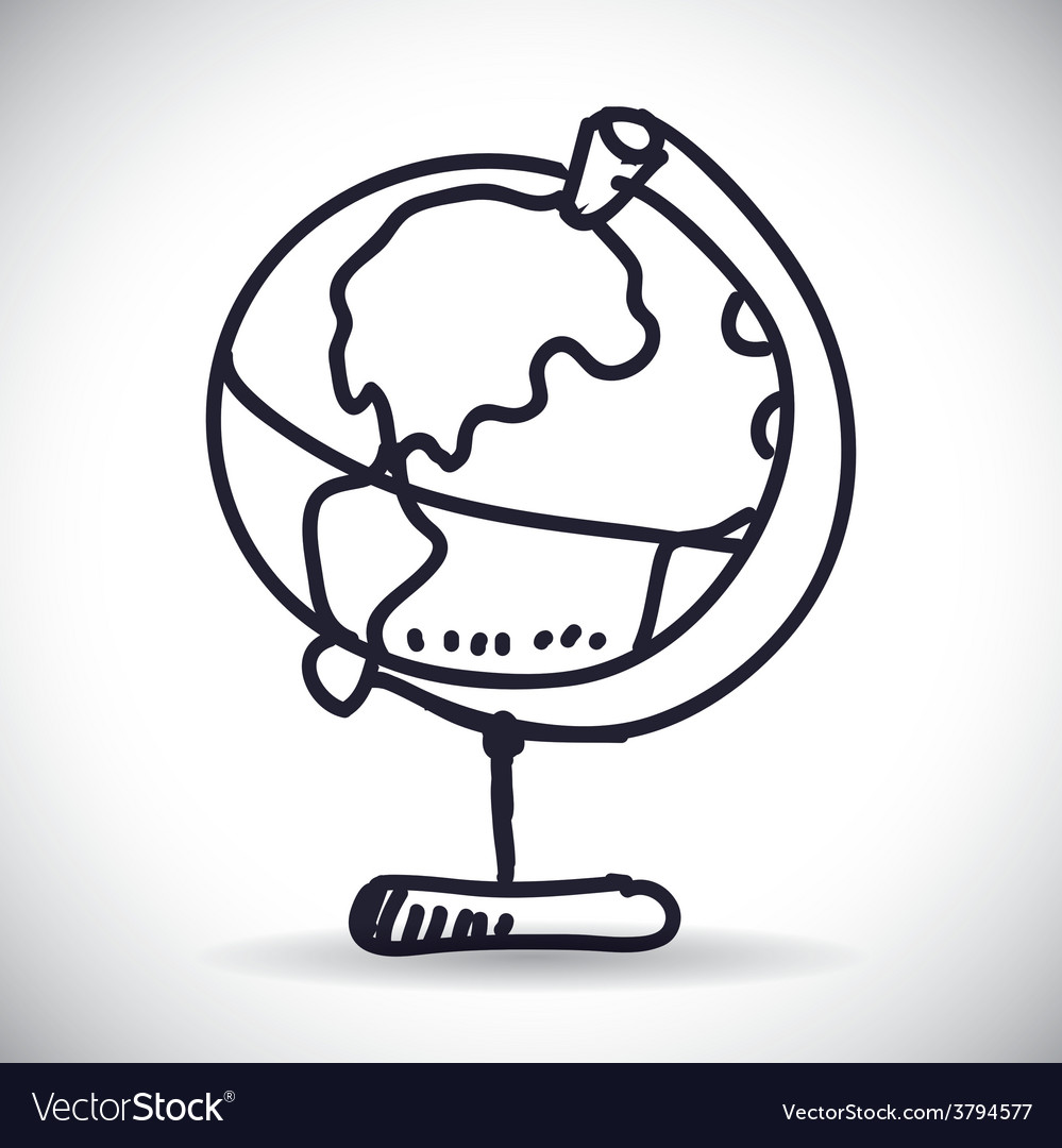 World planet vector | Price: 1 Credit (USD $1)