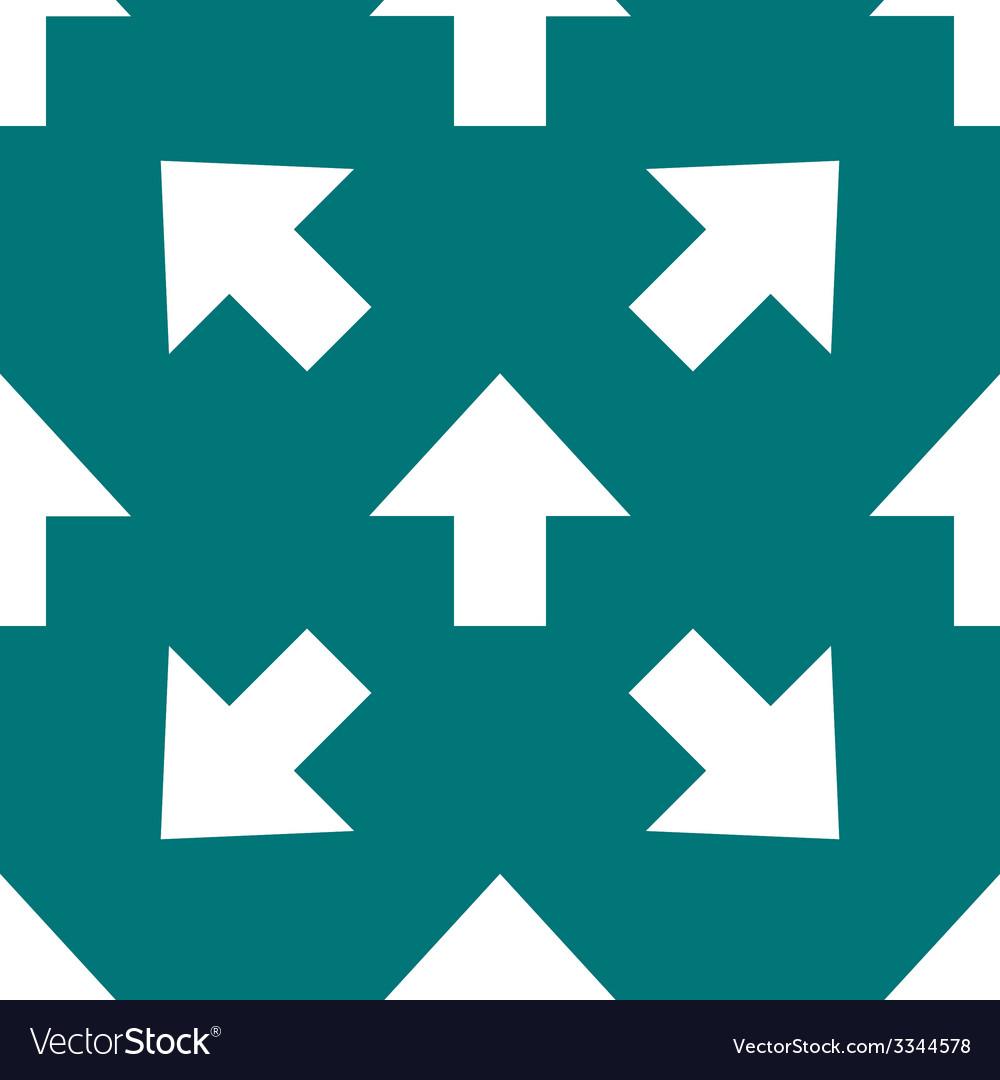 Arrow web icon flat design seamless pattern vector | Price: 1 Credit (USD $1)