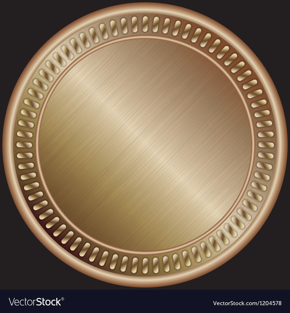 Bronze medal vector | Price: 1 Credit (USD $1)